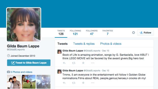 Gilda Baum Lappe Twitter