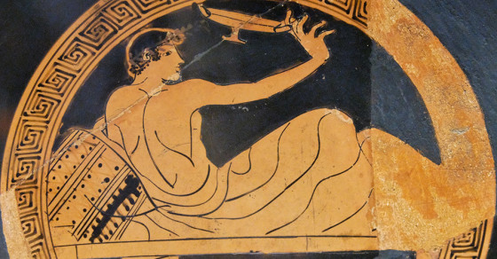 Here's How The Ancient Greeks Played Beer Pong