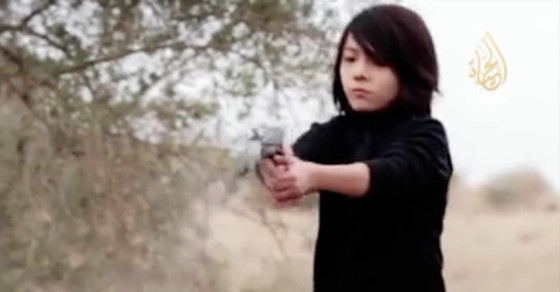ISIS Films Child Soldier Purportedly Executing Russians