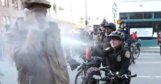 Video Of Teacher Pepper-Sprayed At MLK Rally Stirs Outrage—And A Lawsuit