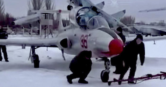Separatists In Ukraine Are Raiding Museums To Build An Air Force