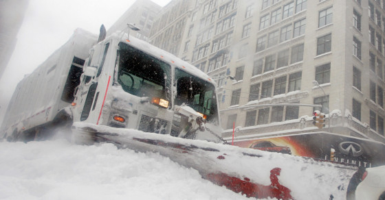 Extreme Snow Is A Symptom Of Climate Change