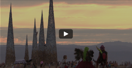 South Africa's Burning Man