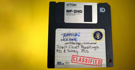 The White House Still Uses Ancient Floppy Disks