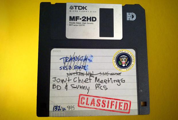 Whitehouse Floppy Disks Megan Smith 001a