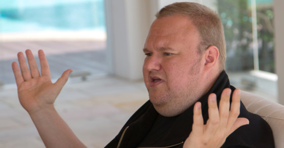 Kim Dotcom Says He's Broke After Blowing Through $200 Million