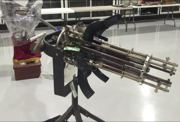 DIY Gatling Gun 001
