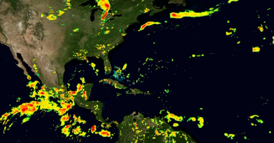 Here's NASA's First Global Map of Rainfall and Snowfall