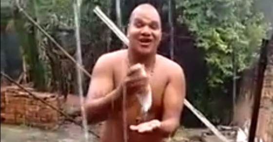 Why So Many Brazilians Are Showering In The Rain