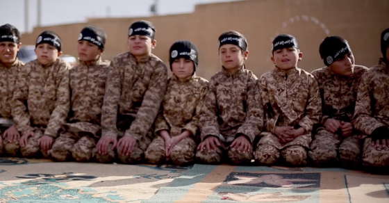 Video: Inside An ISIS Training Camp For Boys