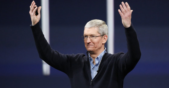 How Tim Cook Compares To Other Philanthropists