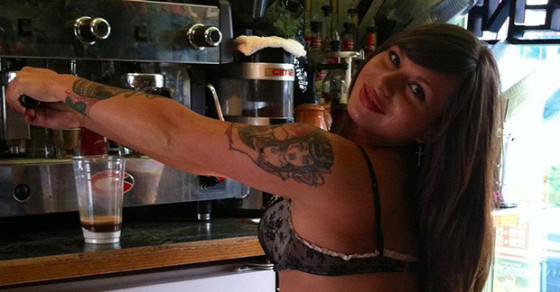 Coffee With a Side of Skin and Harassment