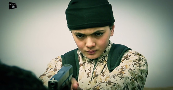 In New Video, ISIS Boy Soldier Executes Alleged Israeli Spy