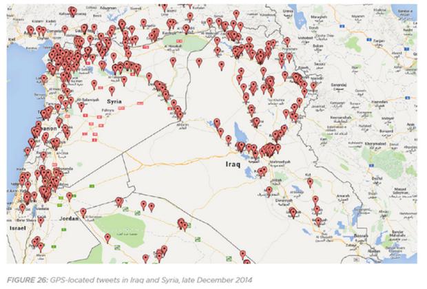 ISIS Tweets Location