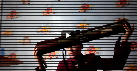 Soviet Anti-Tank RPG In The Hands Of A Schoolboy