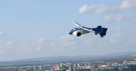 Forget Self-Driving Cars. How About A Self-Flying Car?