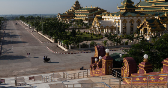 Burma's Shiny Ghost Capital: A Rare Visit to Empty Naypyidaw
