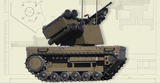 Volunteers Crowdfund A Robotank For Ukraine's Army