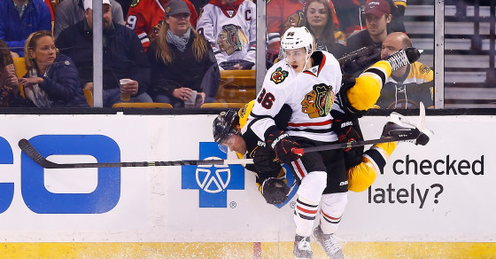 Hockey Players Slam Into Each Other More In The Playoffs