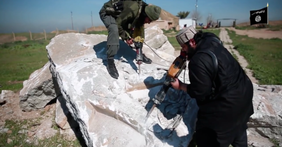 ISIS Destroys Another Archaeological Treasure