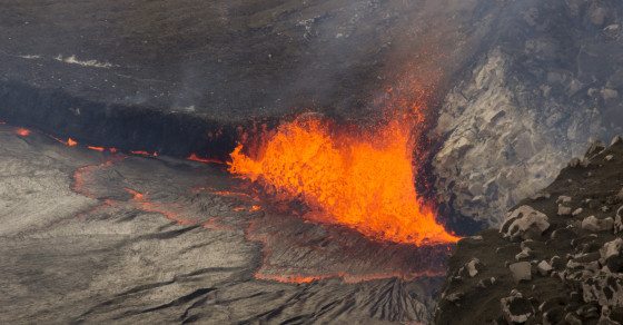 Photos: World's Most Active Volcano Almost Bubbles Over in Hawaii