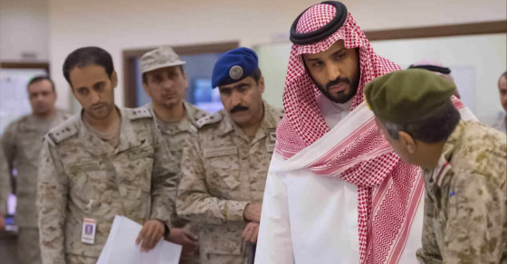 The Mysterious Saudi Prince Leading The War In Yemen