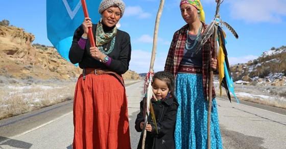 Navajo Women Walk 1,000 Miles To Protest Pipeline