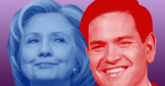 Top Google Searches For Hillary Clinton And Marco Rubio
