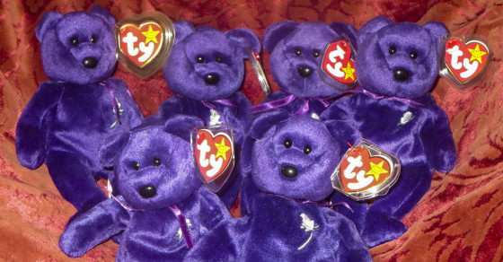 That Princess Di Beanie Baby Listed On EBay For $37K? It's Worth $75