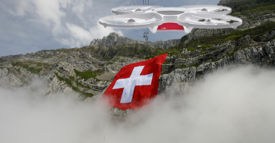 The Swiss Will Be Getting Their Mail By Drone This Summer