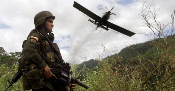 Aerial Spraying Cocaine Plants Is Not Only Deadly, It's Inefficient