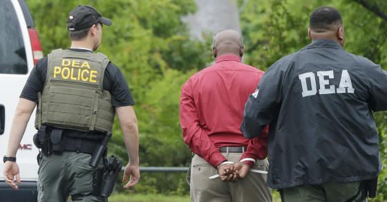 "Massive DEA ""Pill Mill"" Raid Nabs 22 Doctors, Ex-NFL Running Back"