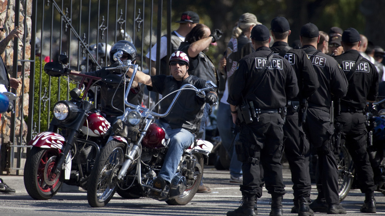motorcycle gangs A 36-year-old former member of a motorcycle gang testified wednesday that he was so frightened after watching thomas f maniscalco and a small band of killers leave three people dead in a westminster home in 1980 that he hid for a year for fear he would be next.