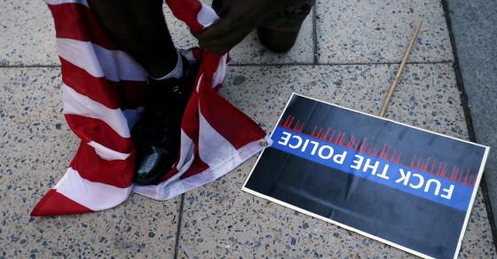 Eric Sheppard Anti-Flag Protest Ignites Patriotism Debate