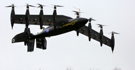 NASA's Latest Creation Can Fly Like A Helicopter Or A Plane