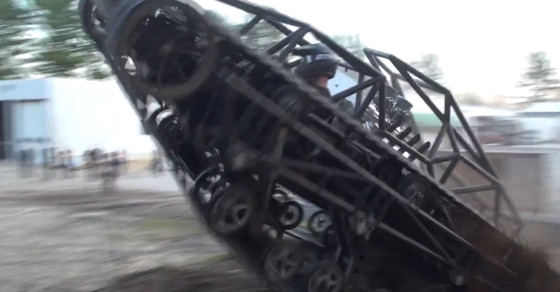 Mad Max Tank Handles Apocalypse With Ease