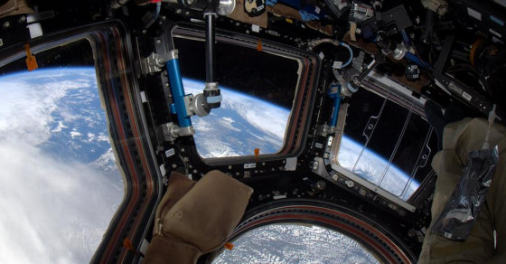 Astronaut Tweets Amazing Photos Of Earth From The Space Station