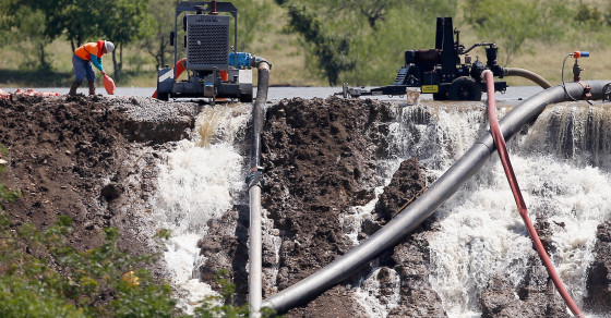 Texas Flooding Puts The Spotlight On State's Crumbling Infrastructure