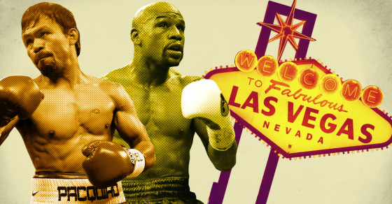 Vegas Prices Were A Knock Out, Thanks To Mayweather And Pacquiao