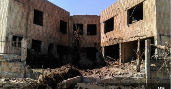 Syria Barrel Bombs Have Struck 10 Hospitals In A Month