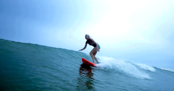 Surfing In The Most Shark-Infested Waters In The U.S.