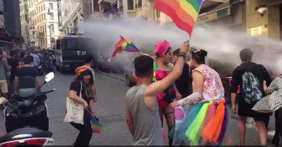 Turkish Police Break Up Pride Parade, After Parties