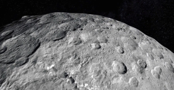 Soar Over A Dwarf Planet In This NASA Video