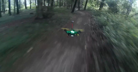 Drones Will Make Your Star Wars Forest Chase Dreams A Reality
