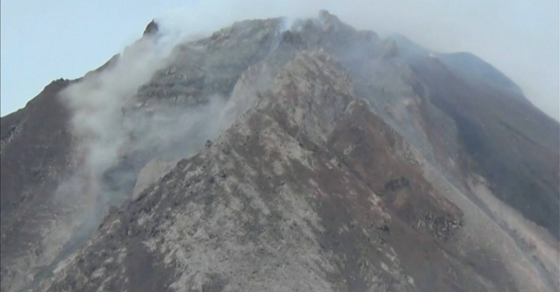 Mount Sinabung's Eruption Is Bringing A Surge Of Pyroclastic Flow