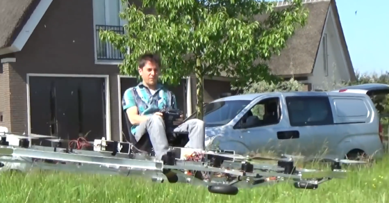 This Drone Can Carry A Human