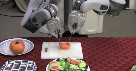 This Robot Can Make You A Salad