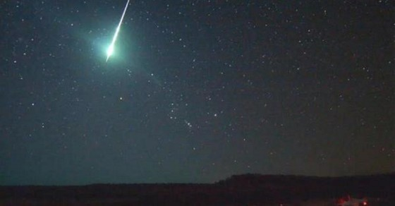 This Massive Green Fireball Just Flew Over South America