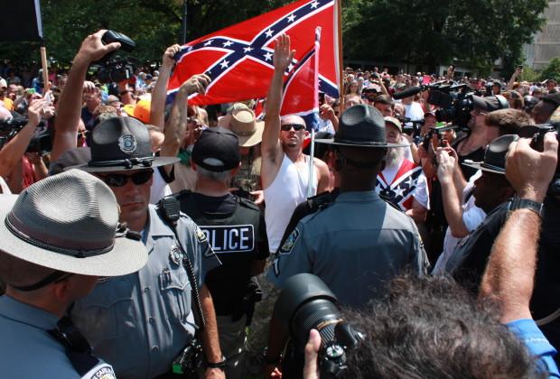 KKK South Carolina Confederate Flag Porotest 005