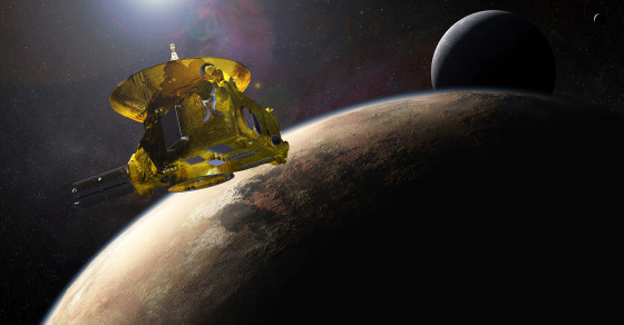 Earth's Biggest Events During New Horizons' Journey To Pluto